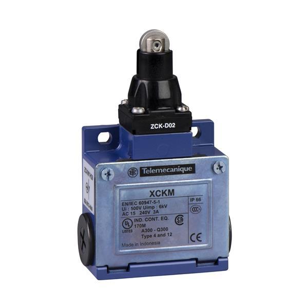 TELEMECANIQUE - interrupteur de position XCK-M - poussoir à galet - 1 O + 1 F