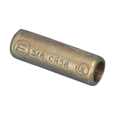 ERICO - Threaded Coupler for Copper-Bonded Earth Rod, Sectional, Bronze, 15,875 mm dia