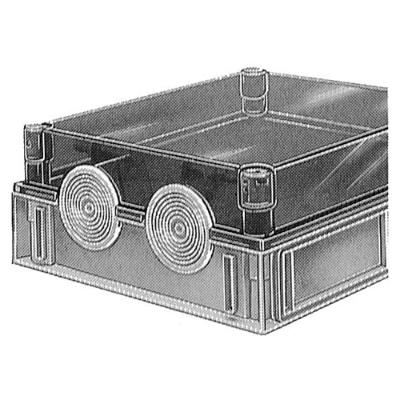 VYNCKIER - 25S60 kabelaansluiting klein 2 kabels max. diameter 58mm (108mm)