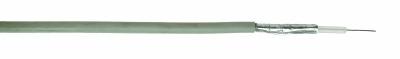 SPECIALE KABELS - Coax 75 Ohm PVC wit massief vertind koper 2x afscherming 6,6mm rol