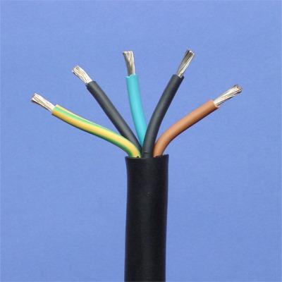 CABLEBEL - H07RN-F CTMB flexibele kabel rubber zwart 750V 5G6mm²