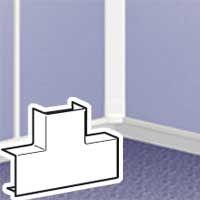 LEGRAND - T-aftakking - hoogte 12,5 mm DLP lijst 32 x 12,5 mm - wit