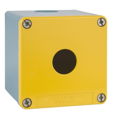 TELEMECANIQUE - boîte à boutons vide - XAP-J - métallique - 1 perçage