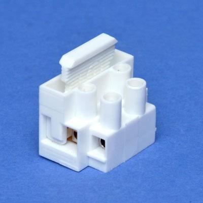HUPPERTZ - Glaszekeringhouder met lusterklem 5x20 2 polig