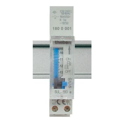 TEMPOLEC - Horloge 24H avec réserve de marche 230V 45-60HZ 1NO 16A