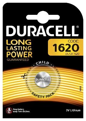 DURACELL - Batterij Specialty Lithium 3V - 1620 / DL1620 / ECR1620 / CR1620, blister 1 st.