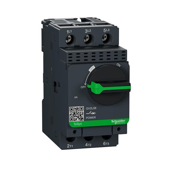 TELEMECANIQUE - Disjoncteur moteur magnétique GV2-L - 2,5A - 3P