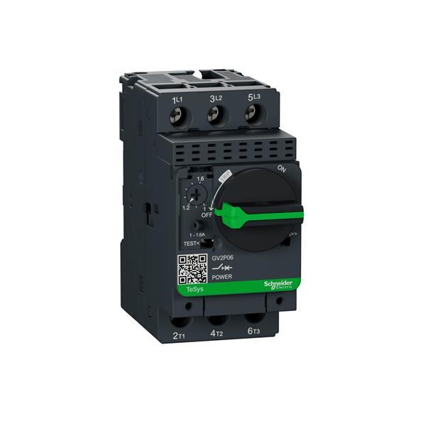 TELEMECANIQUE - disjoncteur moteur GV2-P - 1..1,6 A - 3P 3d - déclencheur magnéto-thermique