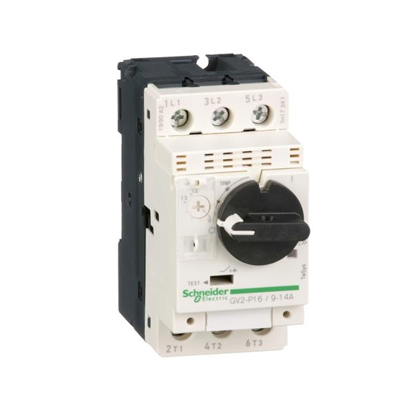 TELEMECANIQUE - motorbeveiligingsschakelaar GV2P - 9..14 A - 3P 3d - therm-magnetisch
