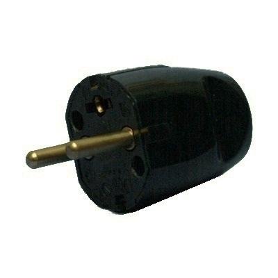 VYNCKIER - Fiche 2P+T 16A noire