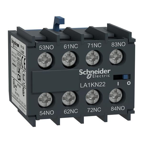 TELEMECANIQUE - Hulpcontactenblok TeSys - 3NO + 1NC - schroefklemmen