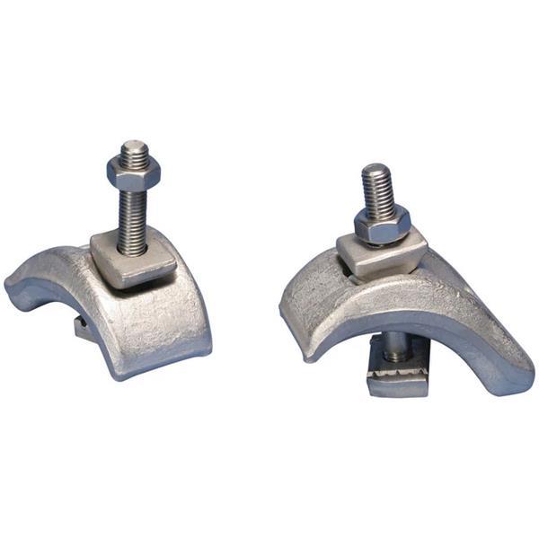 ERICO - Zwaar uitgevoerde balkklem strut montageprofiel, Staal, Therm.Verz., 3-33 mm Fle