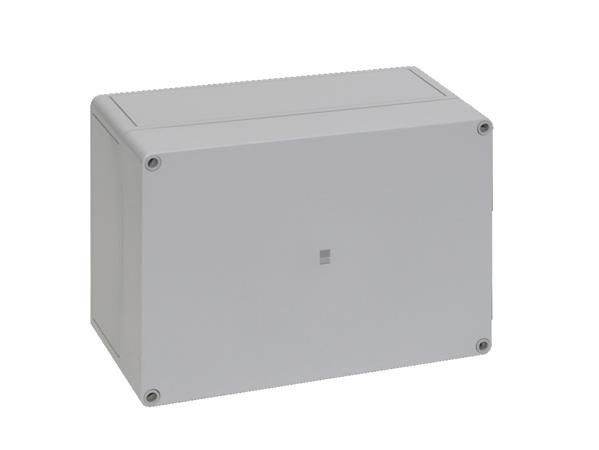 RITTAL - Polycarbonaat kast, 254x180x111mm BxHxD, RAL 7035, grijze deksel, zonder montage