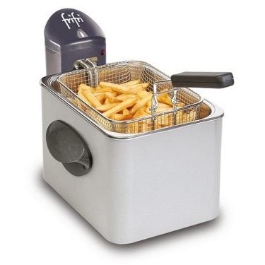 FRIFRI - Friteuse - 2000W - 2,5l - 800g frites - manteau métal