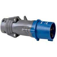 LEGRAND - Fiche droite Hypra plastique IP44-BT- 200-250V - 16A - 2P+T
