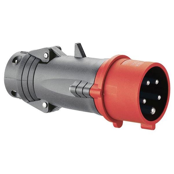 LEGRAND - Rechte contactstop 380V 16A 3P+N+A Hypra - IP44 - IK09 - kunststof