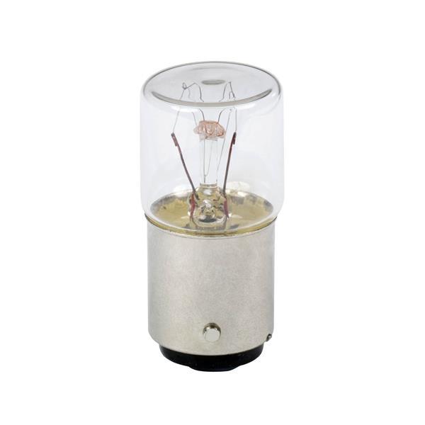 TELEMECANIQUE - Lampe de signalisation à incandescence - incolore - BA 15d - 220..260V 6 W