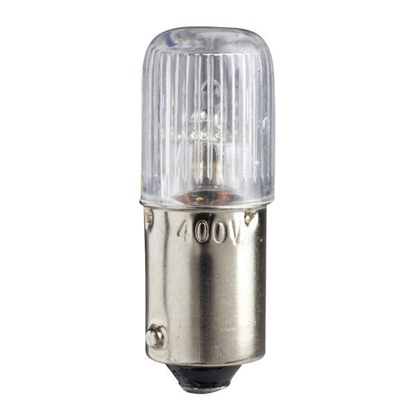 TELEMECANIQUE - Lampe de signalisation à néon - incolore - BA 9s - 230..240V 2,6 W