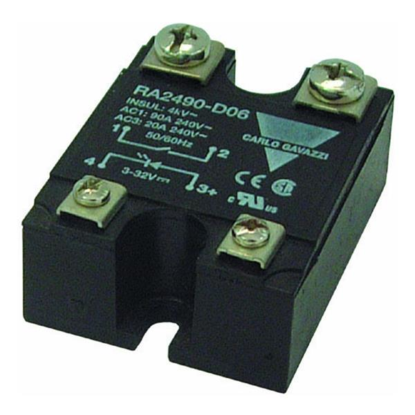 CARLO GAVAZZI - CG SOLID STATE RELAIS 1-FASE ZS 480VAC 50AAC INP 3-32VDC