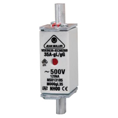VYNCKIER - Fusible à couteaux pour protection des lignes M000 gL/gG 80A