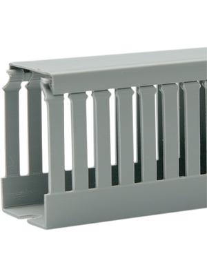 Vynckier - T1-E goulotte de câblage 40x60 gris fente/lamelle 4/6mm
