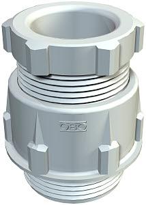 OBO BETTERMANN - Presse-étoupe conique gris 106/PG42 gris clair - polystyrène