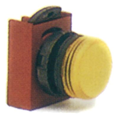 Vynckier - Signaallamp front rond stand. dop met diffusor groen