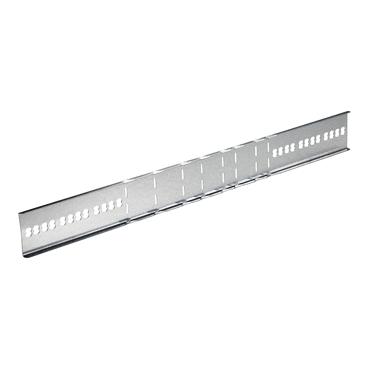 STAGOBEL - Eclisse (pliable) Tôle d'acier galvanisée Sendzimir, H: 60 mm Largeur: 605 mm