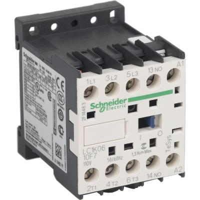 TELEMECANIQUE - contacteur TeSys LC1-K - 3P - AC-3 440V 6 A - bobine 110 V CA