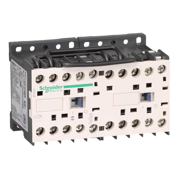TELEMECANIQUE - Contacteur inverseur 9A AC-3 - 3P 1NO - 24V AC 50...60Hz