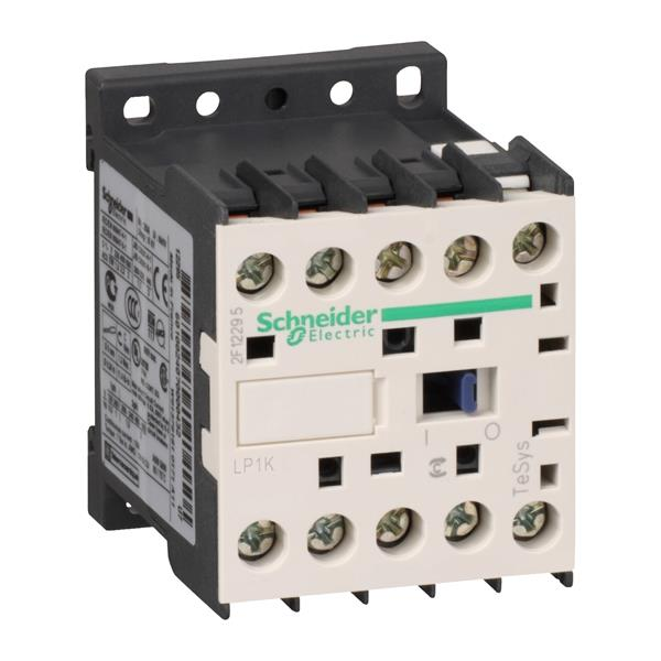 TELEMECANIQUE - contacteur TeSys LP1-K - 3P - AC-3 440V 9 A - bobine 24 V CC