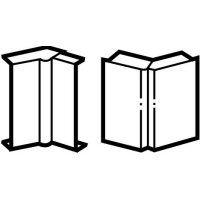 LEGRAND - Variable binnen/buitenhoek DLP lijst 20x12, 5 mm  - bruin