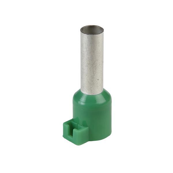 TELEMECANIQUE - Embout de câblage pour porte-repères - format moyen - 6 mm² - vert