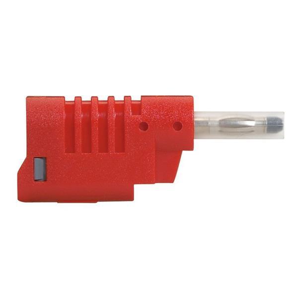 LEGRAND - Fiche banane - 16 A - 750 V diam. 4 mm - rouge