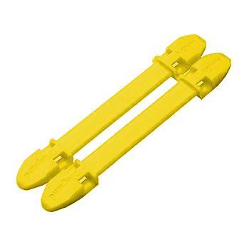 LEGRAND - Porte-repère Duplix - jaune 7 caractères - collier Colring