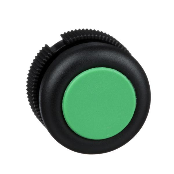 TELEMECANIQUE - Kop rond voor drukknop - impulscontact - XAC-A - groen - met beschermkapje