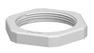 OBO BETTERMANN - Contre-écrou 116/PG9 polystyrène gris clair