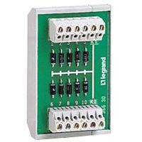 LEGRAND - Diodemodule - 10 diodes gemeenschappelijke anode - bevestiging op rail