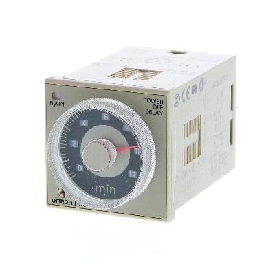 OMRON - Tijdrelais, 48 x 48 mm, multirange, multifunctie, 24-48 VAC/12-48 VDC, 5A