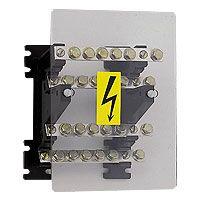 LEGRAND - Verdeelklem trapvormig - 4p - 125A - 4 staven 15x4mm - voor kabelschoenen