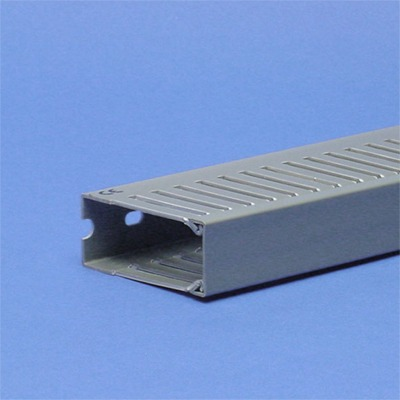 Vynckier - T1-E bedradingskoker 25x60 grijs perforatie 4/6mm