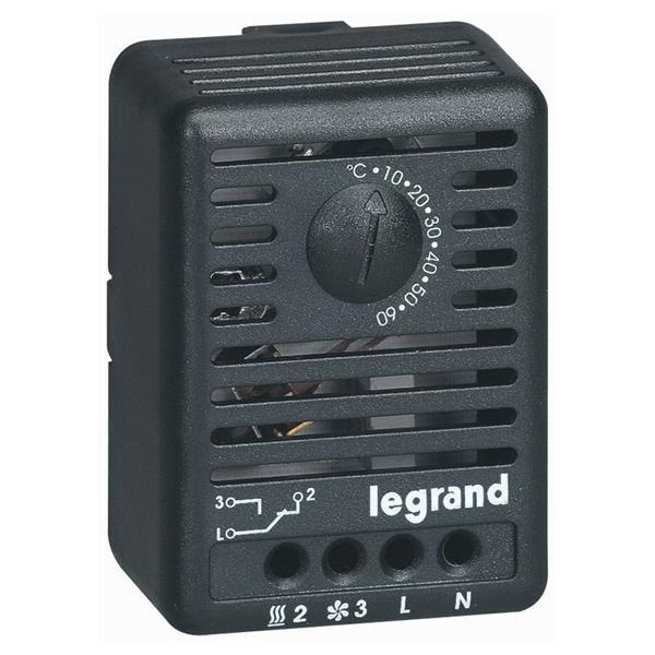 LEGRAND - Omgevingsthermostaat 12/250 V voor verdeelkasten