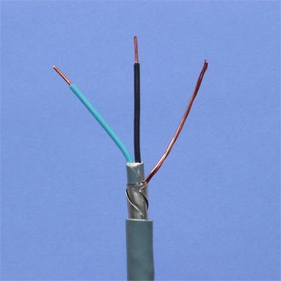 CABLEBEL - XFVB installatiekabel F2 gewapend 1kV grijs 2X1,5mm²