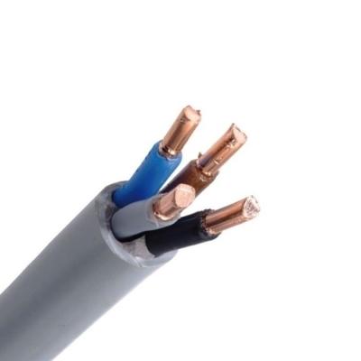 CABLEBEL - XVB câble d'installation XLPE/PVC 1kV F2 gris 4X4mm²