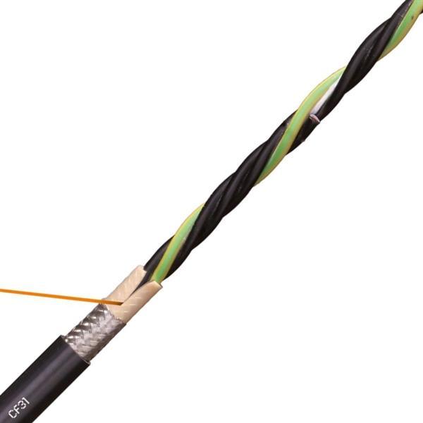 CABLES SPECIAUX - Câble d'alimentation pour moteurs, PVC, blindé