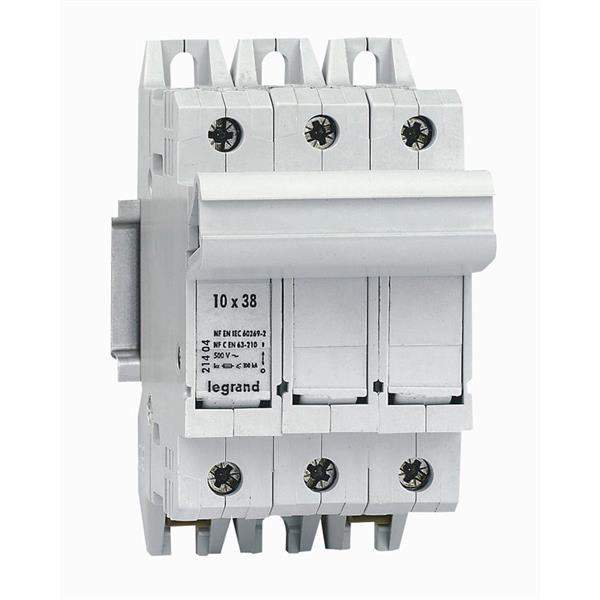 LEGRAND - Coupe-circuit SP38 3P Pour cartouches ind. 10x38mm