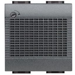 BTICINO - Bel Living - elektronisch - 12V - 3 geluiden - met frontale volumeregelaar