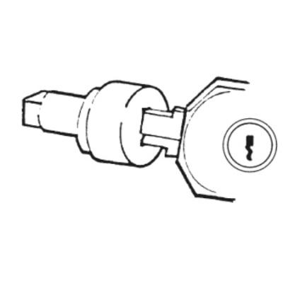 Vynckier - Cilinderslot met 2 sleutels 2432E