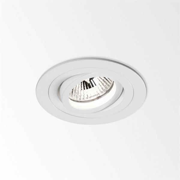 DELTA LIGHT - Circle S2 spot encastré QR-C51 50W GX5,3 12V IP20 orientable blanc lames