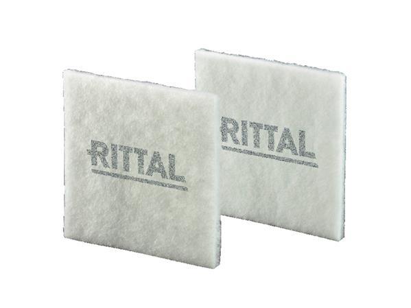 RITTAL - Vervangingsfiltermat, 173x173x17mm BxHxD, filterklasse G3, kunststofvezel